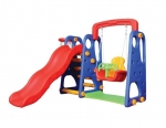 KIDS SLIDE AND SWING SET