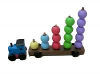 Kereta Telor Besar + Loko