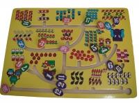 Maze Angka