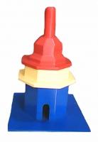 """Miniatur Rumah Ibadah """"Vihara"""""""
