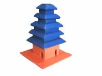"""Miniatur Rumah Ibadah """"Pura"""""""