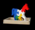 Puzzle 3 Dimensi Kuda