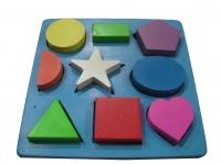 Puzzle 9 bentuk
