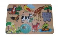 Puzzle Aneka Binatang