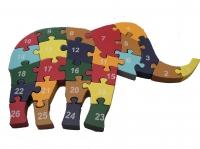 Puzzle Berdiri Gajah Besar