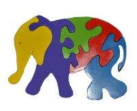 Puzzle Berdiri Gajah Kecil