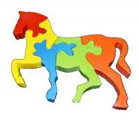 Puzzle Berdiri Kuda Kecil