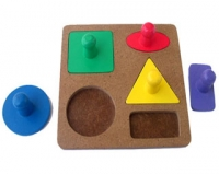 Puzzle Knob Geometri