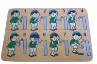 Puzzle Stiker Tata Cara Wudhu