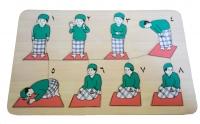 Puzzle Stiker Tata Cara Sholat