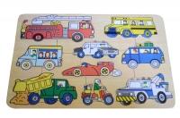 Puzzle Stiker Transportasi Darat